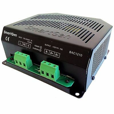 Smartgen Bac1210-12v Generator Battery Charger 12v10a 90-280vac 5060hz