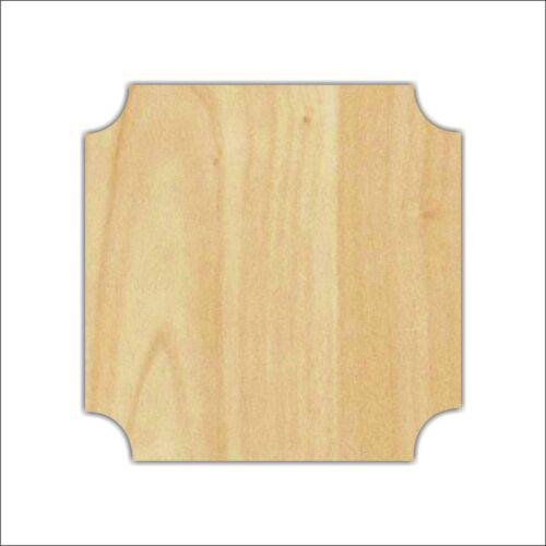 Unfinished Wood Laser Cut Decorative Plaque (TM2), Ready to Paint, Larger Sizes