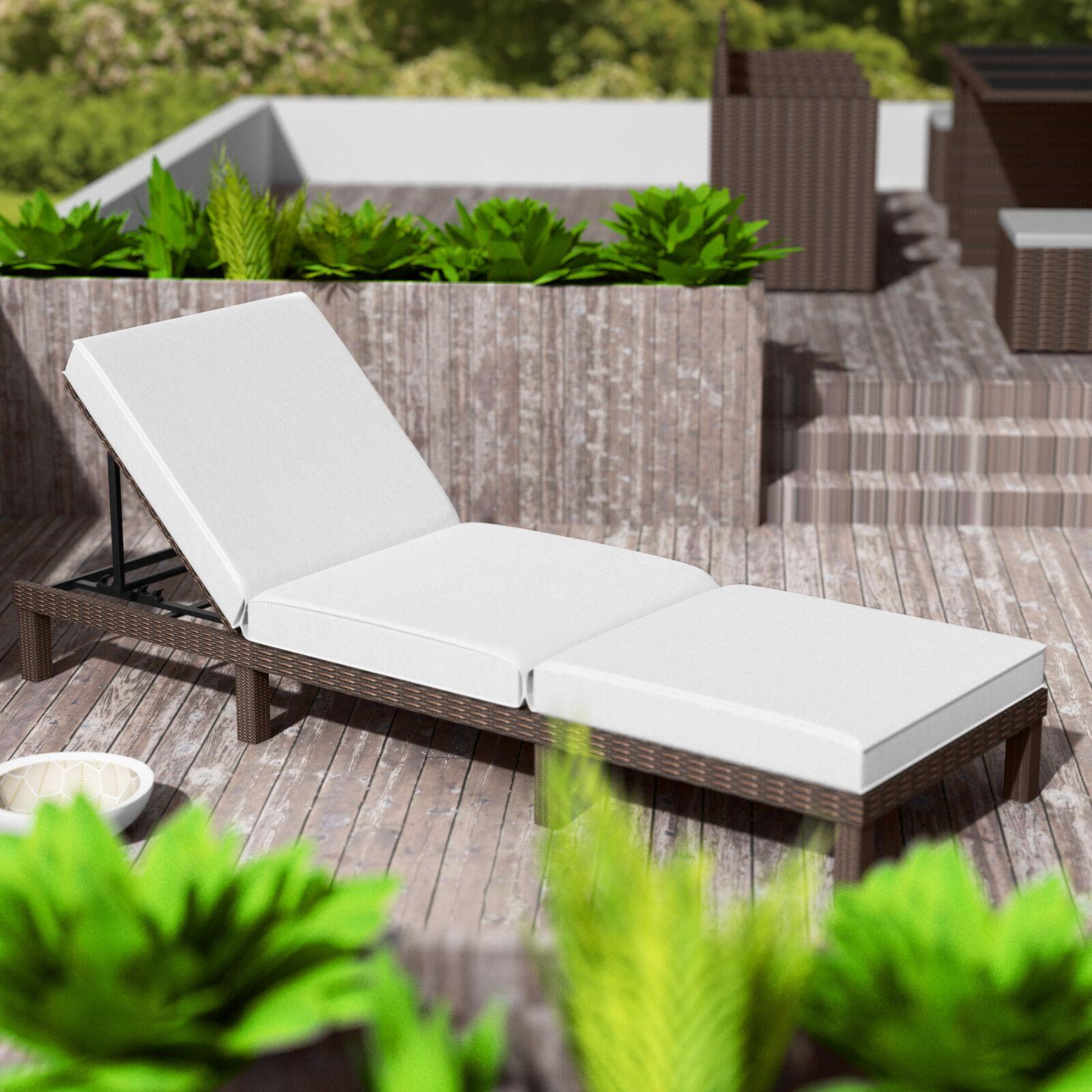 polyrattan sonnenliege gartenliege relaxliege rattanliege. Black Bedroom Furniture Sets. Home Design Ideas