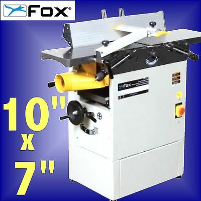FOX F22-568 10 x 7 Professional Planer Thicknesser 240v 3Yr Warranty