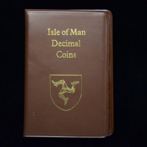 1988 Isle of Man Decimal Coin Set (otb163)