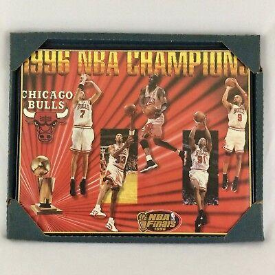 b297bda174ef 1996 Chicago Bulls NBA Champions Poster Michael Jordan Scottie Pippen  Starline