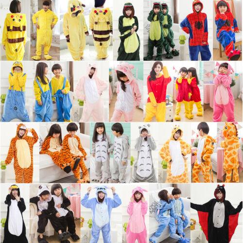 Neu Erwachsene/Kind Karneval Tier Kostüm Kigurumi Pyjamas Cosplay Schlafanzug jh
