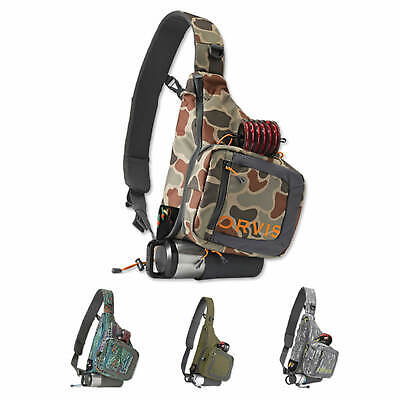 Orvis Safe Passage Sling Pack Fly Fishing Carrier Case Crossbody