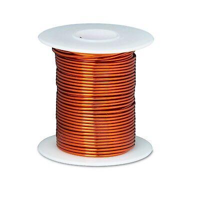 18 Awg Gauge Enameled Copper Magnet Wire 8 Oz 100 Length 0.0428 200c Natural
