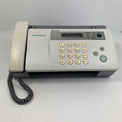 Sharp Ux-b20 Plain Paper Inkjet Fax Machine Printer Telephone Missing Tray Works