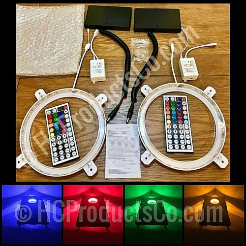 Remote Control Cornhole Lights with 20 Color and Motion Options