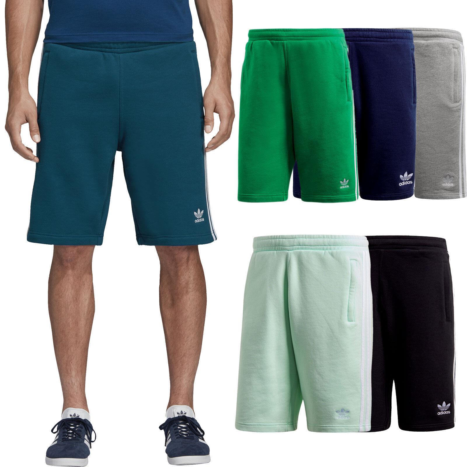 62a3844c1e0ca8 adidas Originals 3-Stripe Short Herren-Shorts Freizeit-Hose Bermuda  Jogging-Hose