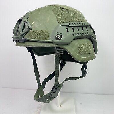 Medium OD Olive Drab GRN Advanced Combat Helmet ACH MICH US ARMY USMC Ballistic
