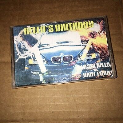 DJ Mistarello & Jadel Rello's BDAY NYC 90s Blends Hip Hop Cassette Mixtape Tape