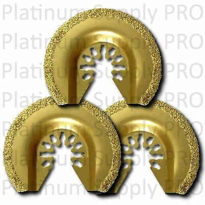 3pk Circular Carbide Oscillating Multitool Saw Blade For Fein Makita Ryobi Bosch