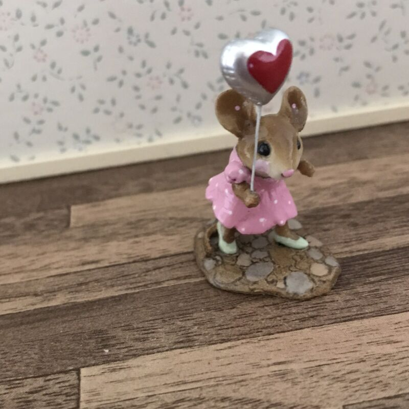 """Wee Forest Folk """"Dot"""" Mouse Parade~Retired~2006~MP-8"""