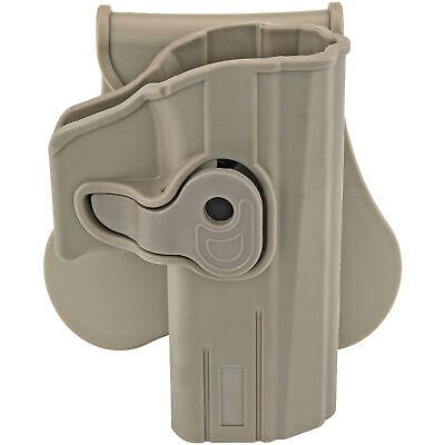 Right Hand Swivel Paddle Holster for CZ P-07 & P-09 Model Handguns Pistols FDE Holsters