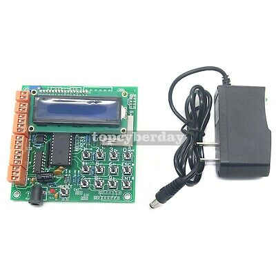 3 Axis Stand-alone Cnc Stepper Motor Controller Lcd Support G-codepower Adapter