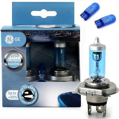 GE Generel Electric H4 60/55W SportLight Silver Xenon Effekt 2er Set + W5W ()