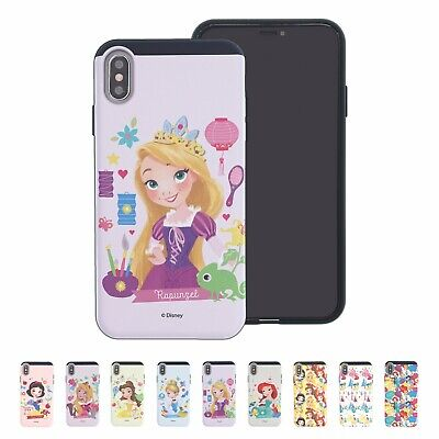 Disney Cute Princess Bumper Cover Galaxy S10 Note10 iPhone 11 Pro XS Max XR -