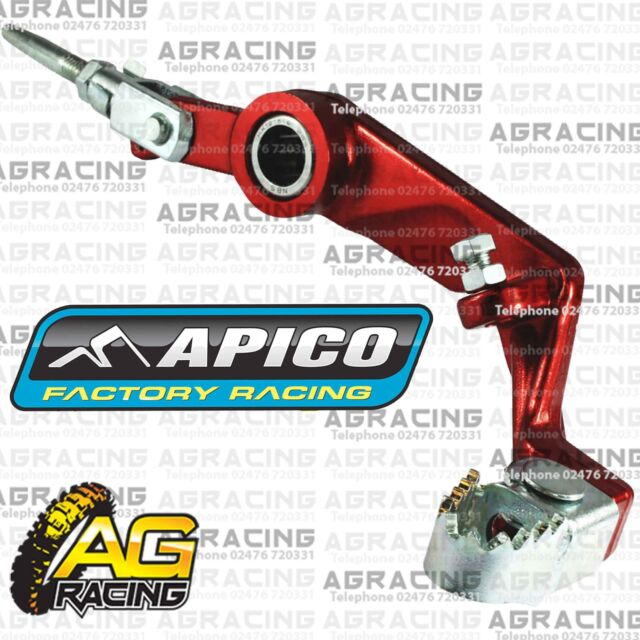 Apico Red Rear Foot Brake Pedal Lever For Montesa 315R 1997-2004 Trials Models