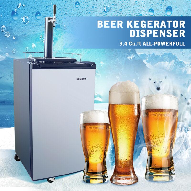 3.4 Cu Ft Kegerator Draft Brew Beer Dispenser Cooling Refrigerator Single Faucet