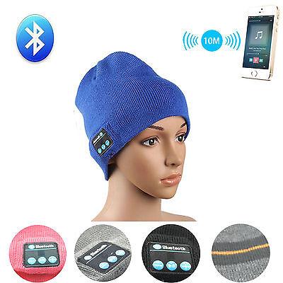 Winter Warm Hat Bluetooth Headset Music Hat With Mic Speaker