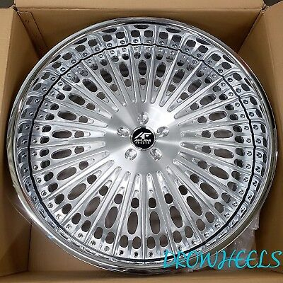 26 AMANI FORGED W TIRES Donk Box Chevy Impala Caprice Cutlass IN STOCK NEW Devo