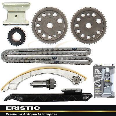 Upg Kit - Timing Chain Kit w/ UPG. TENSIONER FOR Z22SE L61 L42 LSJ LNF GM 2.0L 2.2L Ecotec