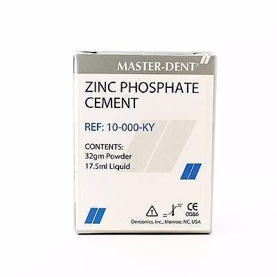 Dental Zinc Phosphate Cement Kit Permanent Crown Inlays Bridges And Orthodontic