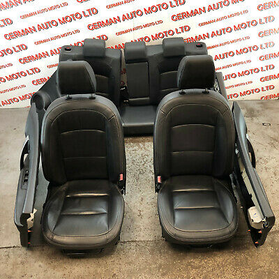 Nissan Qashqai 2011 j10 Heated Black Leather Seats With Door Cards