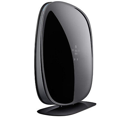 Belkin N600DB 300 Mbps 4-Port Wireless N Dual Band WiFi Router Brand new Sealed