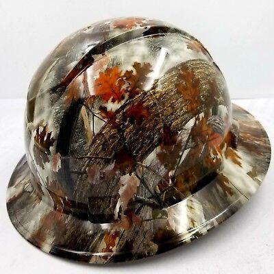 Hard Hat Full Brim FALL / WINTER CAMO Custom hydro dipped full brim best price