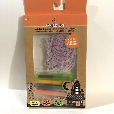 HALLOWEEN SHRINK ART KIT Party Crafts](Halloween Art Craft)