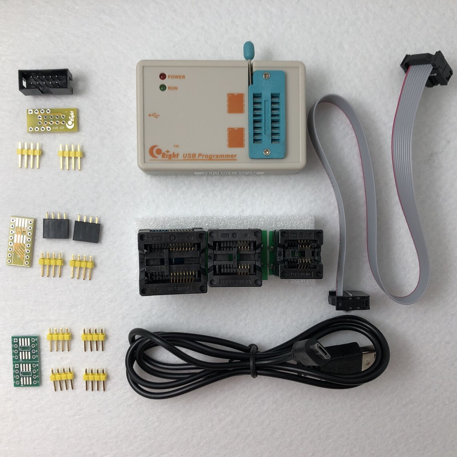 SkyPRO High-speed USB SPI Programmer for 24/25/93/EEPROM/Flash/AVR