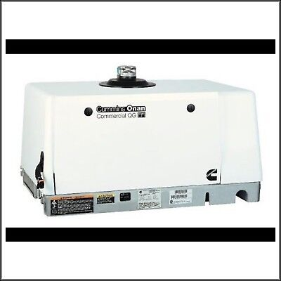 Cummins Onan 7.0hgjae-2132 7000 Watt Commercial Mobile Quiet Gas Generator