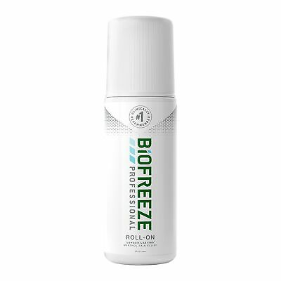 Biofreeze Pain Relief Gel For Body Muscles Joints Menthol 3 oz. Roll On Bottle