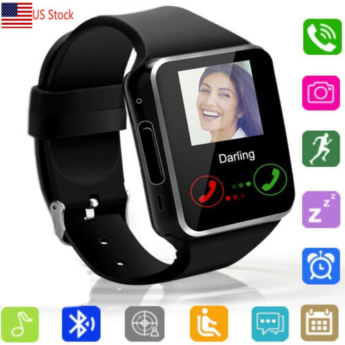 Bluetooth Smart Watch Unlocked Wrist Watch For Android Men W