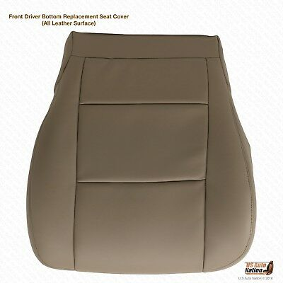 Front DRIVER Bottom Leather Replacement Seat Cover 2003 2004 For Toyota Tundra