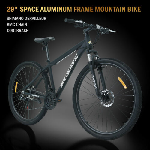 "29"" Aluminum Frame Men's Mountain Bike 21 Speed Shimano Bicy"
