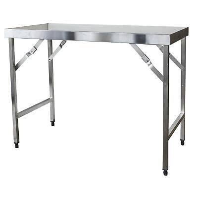 Sportsman Series Stainless Steel Portable Folding Work Table