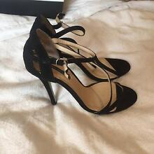 Tony Bianco women's shoes size 6.5 black heels Essendon Moonee Valley Preview