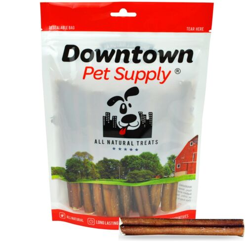 """6"""" inch THICK BULLY STICKS Natural Dog Treats Chews USDA & FDA Approved"""