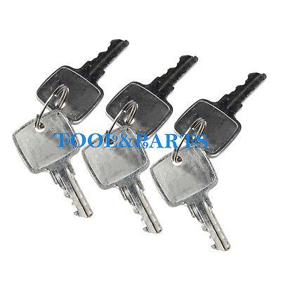 6 Keys For John Deere 710k 310k 401c 710j 315sj 310sj 410j 410k 210c 710d 510