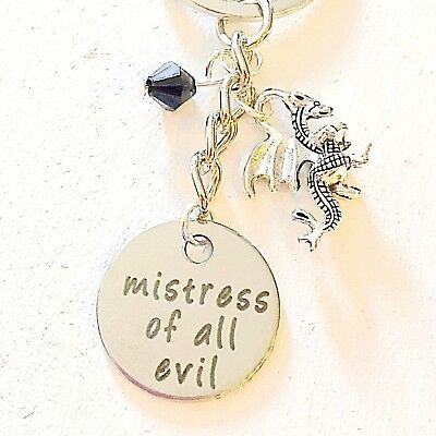 Mistress Of All Evil Maleficent Sleeping Beauty-Inspired Keychain Accessories - Mistress Of All Evil