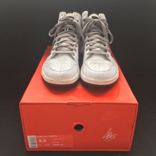 Nike dunk high lux x undefeated « white infrared» ???? us 8.5/ uk 7.5/ eu 42