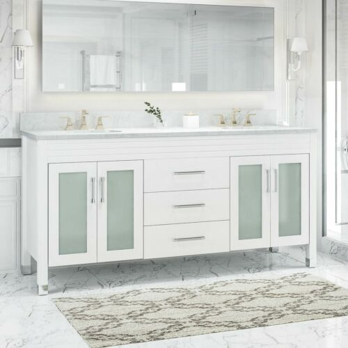 Holdame Contemporary 72″ Wood Bathroom Vanity (Counter Top Not Included) Bath
