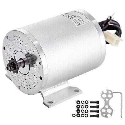 Motor de CC sin Escobillas Motor Eléctrico 48V 1500W con Soporte de...