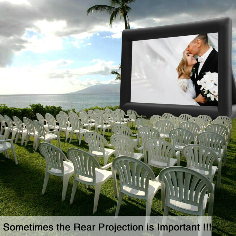 20FT Inflatable Projector Screen Pro Movie Theater Screen Se