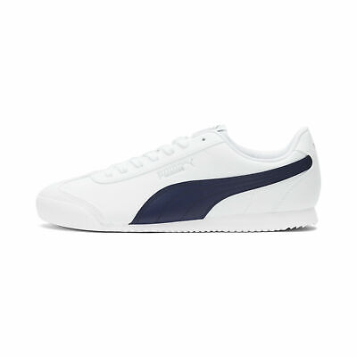 Puma Turino SL Men's Sneakers   White/Navy Blue   Size: 12 M...