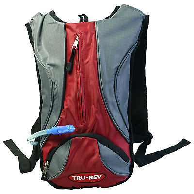 Backpack by Trurev with water bladder. Smaller compact size. inside pockets