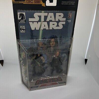 Star Wars: Comic 2 Packs: #19: Quinlan Vos & Vilmarh Grahrk Action Figure Set