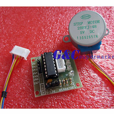 5v Stepper Motor With Uln2003 Drive Test Module Board New Good Quality M19