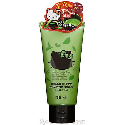 ROSETTE X HELLO KITTY Cleanser for Pore Tightening Uji-Matcha Kintoki